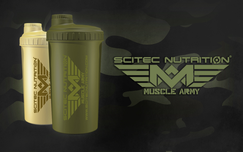Scitec Muscle Army Shaker 700 ml
