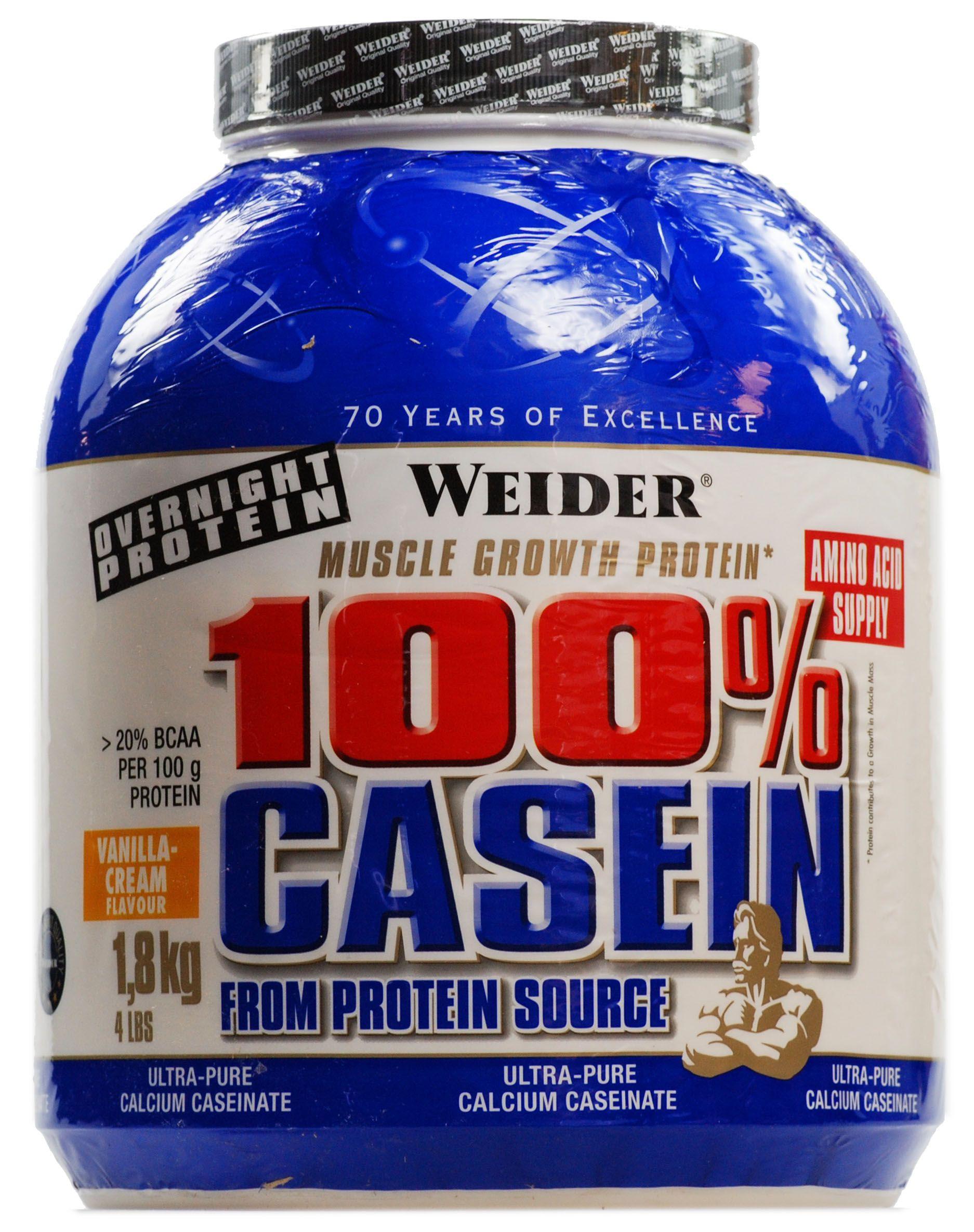 100% Casein 1800g - Weider