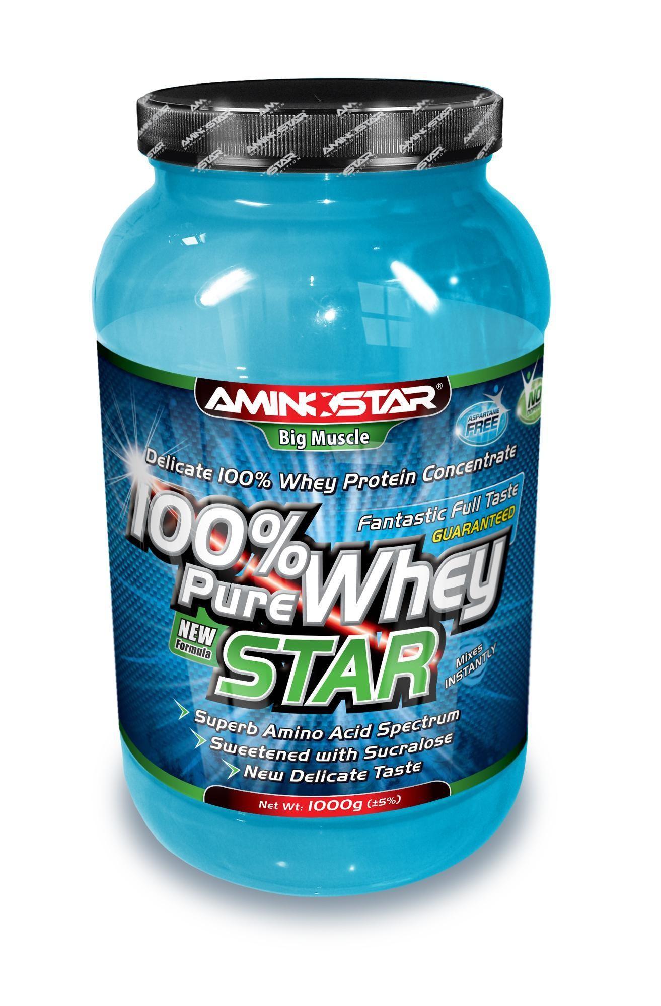 Aminostar 100% Pure Whey Star 1000g
