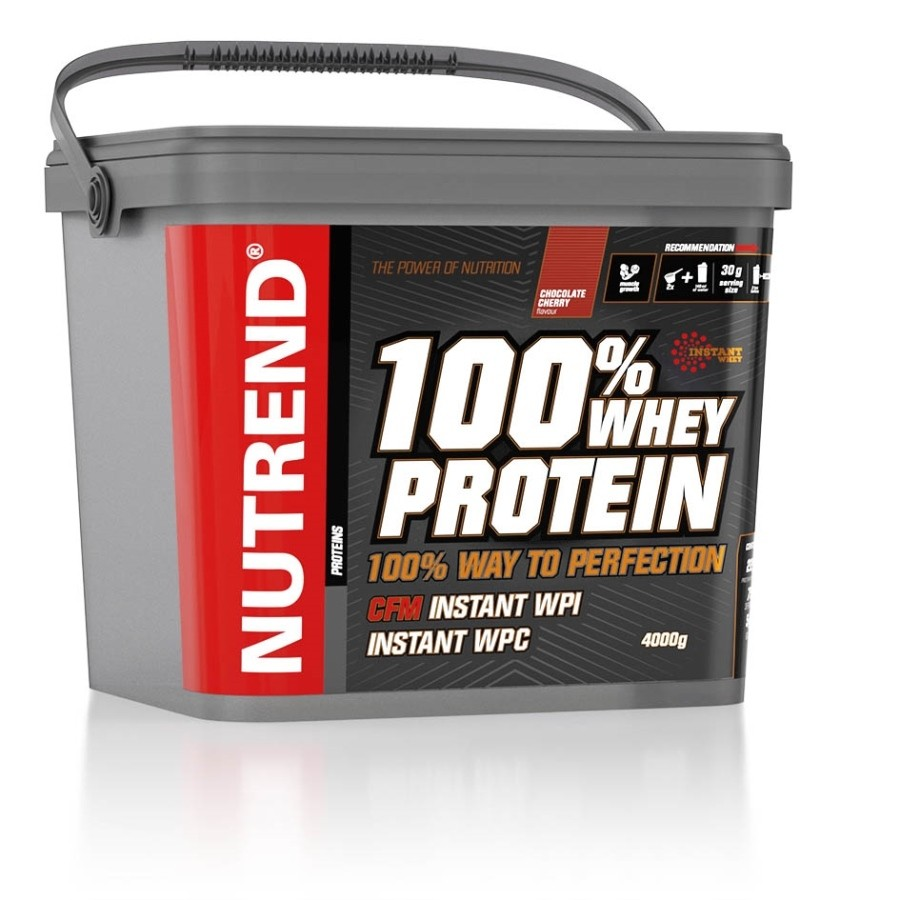 100% Whey Protein 4000g - Nutrend