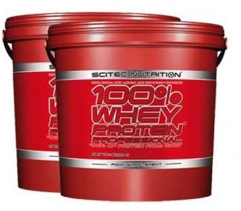 2x Scitec 100% Whey Protein Professional 5000 g + DOPRAVA ZDARMA
