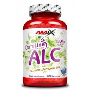 ALC with Taurine + Vitamin B6 120 kapslí - Amix