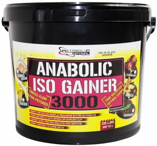 Anabolic Iso Gainer 9100g - Metabolic Optimal Nutrition