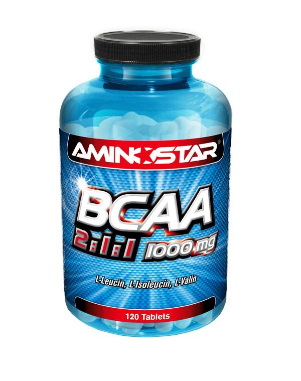 Aminostar BCAA 2:1:1 1000mg 120 tablet