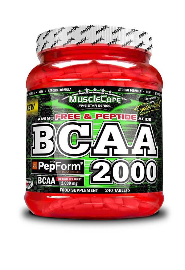 BCAA 2000 with Pepform 240 tablet - Amix