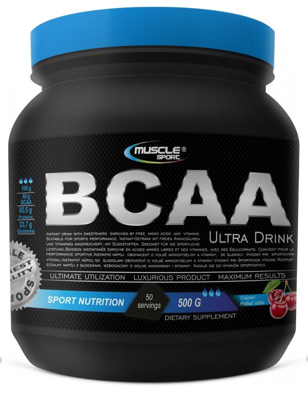 BCAA 4:1:1 ULTRA DRINK 500g - Musclesport