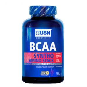 BCAA Syntho Stack 240 kapslí - USN