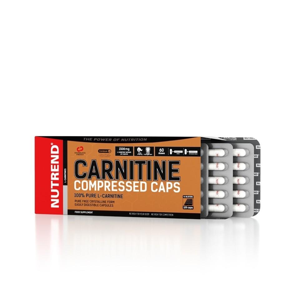 Carnitine Compressed Caps 120 kapslí - Nutrend
