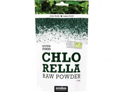 Chlorella Powder BIO 200g - Purasana