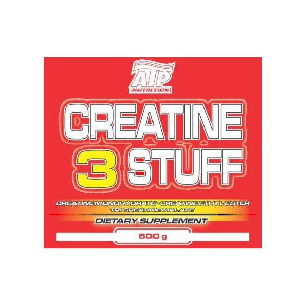 Creatine 3 Stuff 500g - ATP