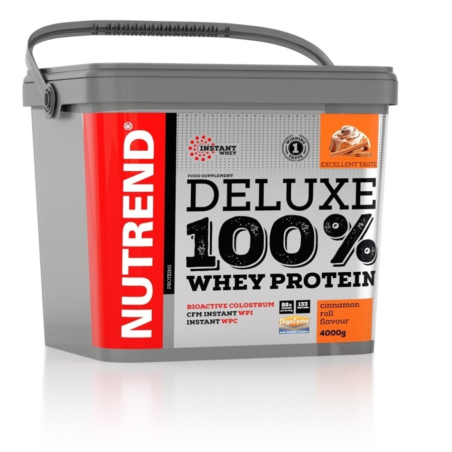Deluxe 100% Whey 4000g - Nutrend