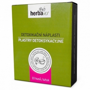Detoxikační náplasti 10ks HerbaVis