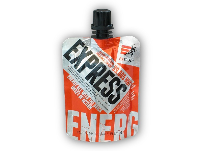 Express Energy Gel 80g - Extrifit