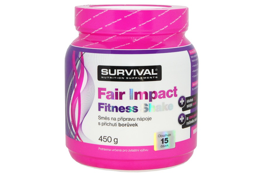 Fair Impact Fitness Shake 450g - Survival