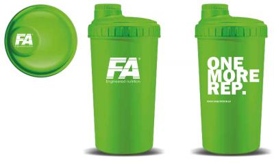 Fitness Authority Shaker 700 ml zelený