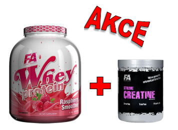 Fitness Authority Whey Protein 2270 g + Xtreme Creatine 500 g