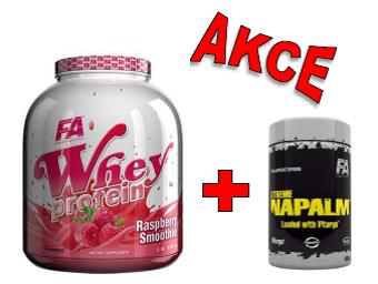 Fitness Authority Whey Protein 2270 g + Xtreme Napalm Vitargo 1000 g