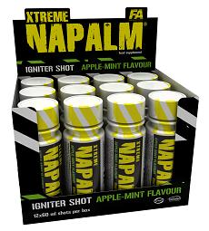 Fitness Authority Xtreme Napalm Shot 24x120 ml
