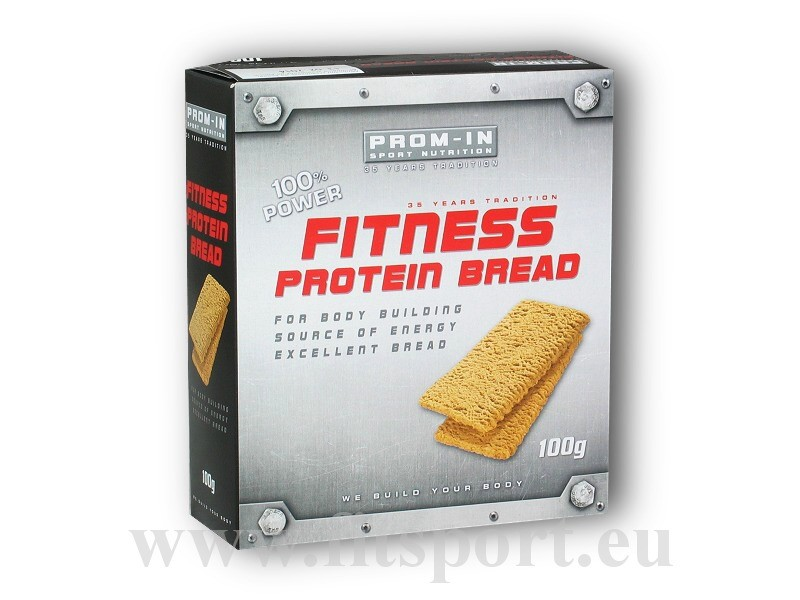 Fitness protein bread 100g - PROM-IN (Promil)