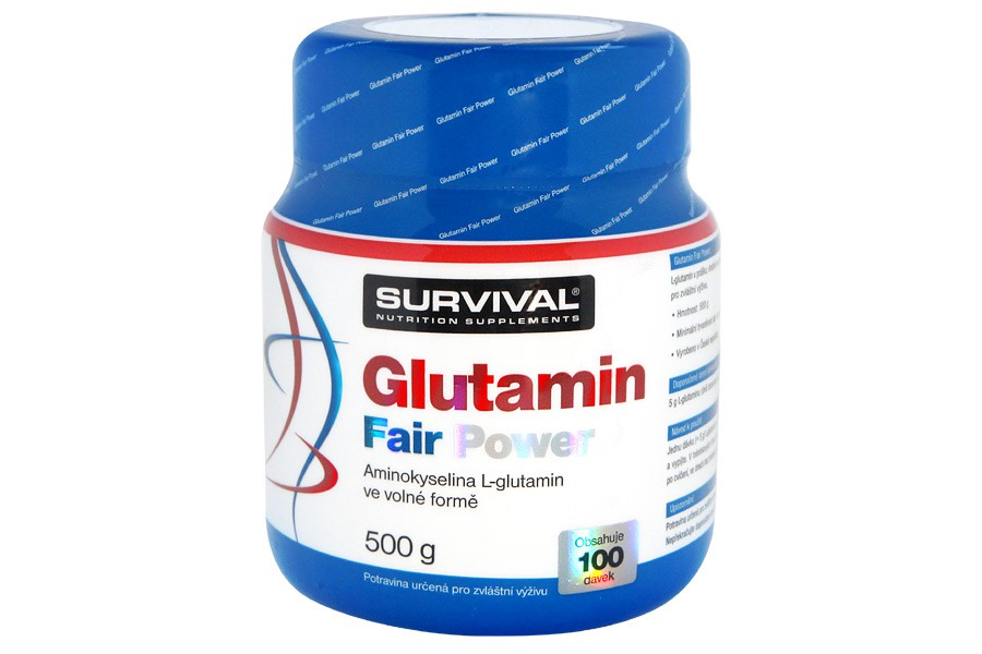 Glutamin Fair Power 500g - Survival