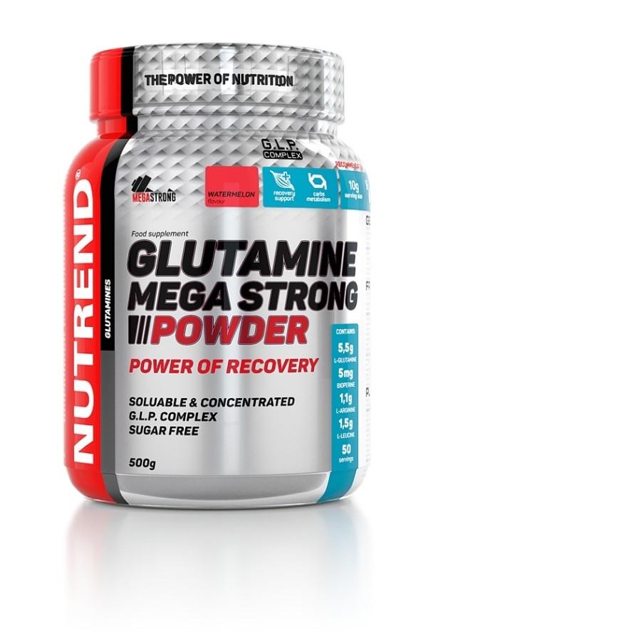 Glutamine Mega Strong Powder 500g - Nutrend