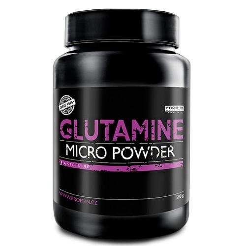 Glutamine Micro Powder 500g - Prom-In