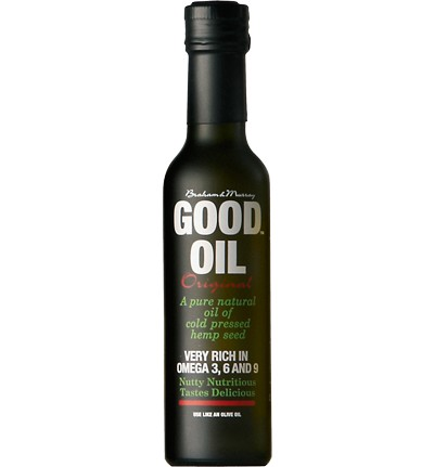 GOOD Hemp Oil 250ml - Good Hemp Nutrition