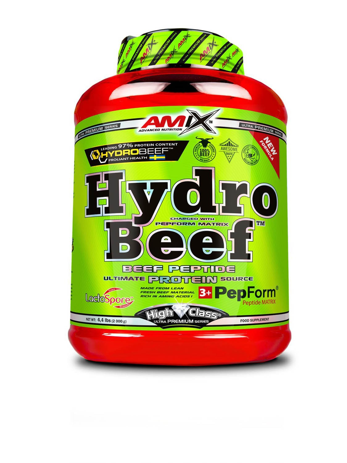 Hydro Beef Peptide protein 2000g - Amix