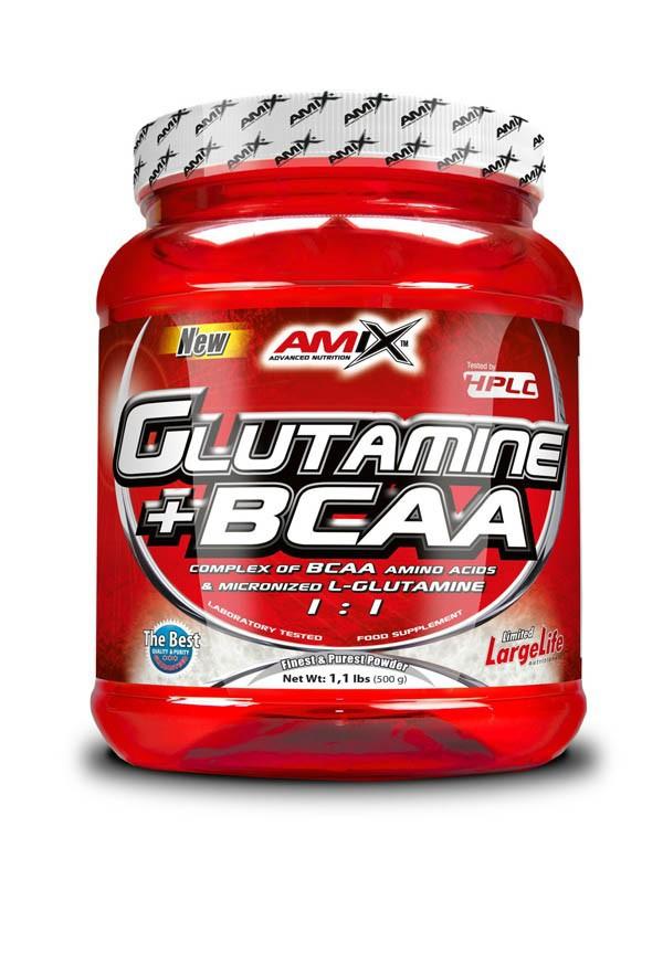 L-Glutamine + BCAA 500g - Amix