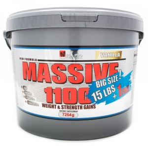 Massive 1100 Weight Strength Gains 7264g - Mega Pro Nutrition