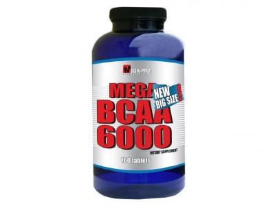 Mega BCAA 6000 160 tablet - Mega Pro Nutrition