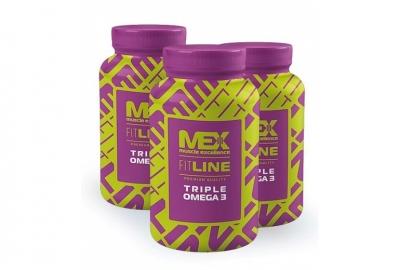 MEX Nutrition Triple Omega 3 90 kapslí
