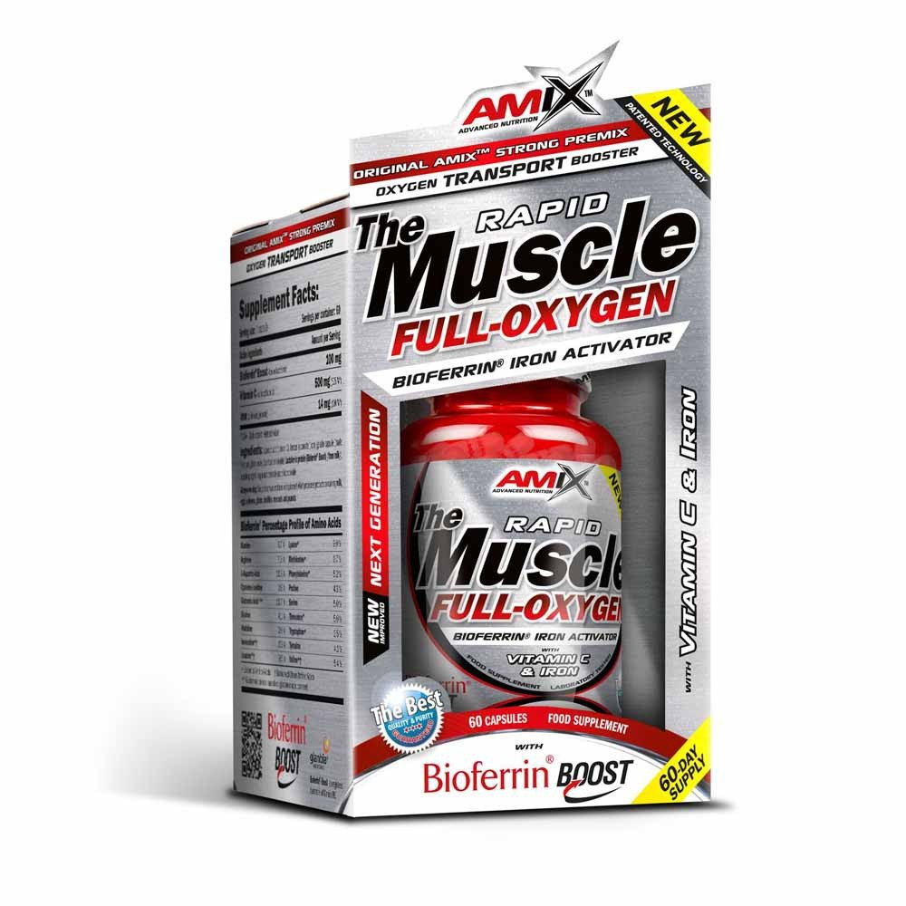 Muscle Full-Oxygen 60 cps - Amix