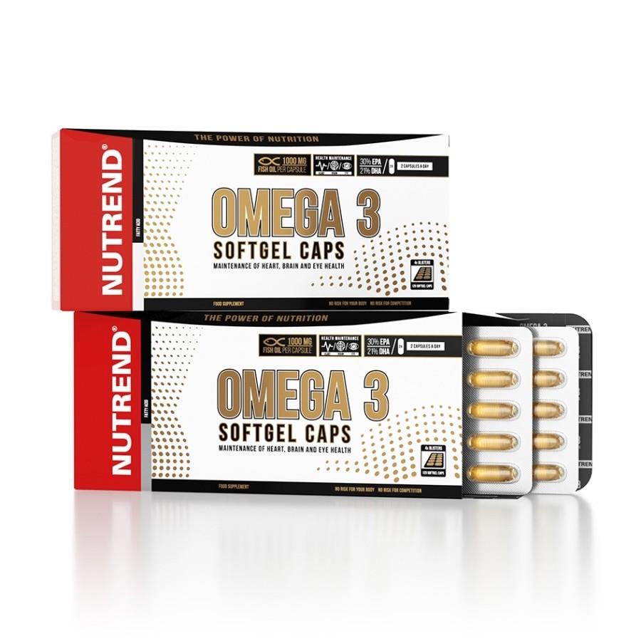 Omega 3 softgel caps 120 cps - Nutrend
