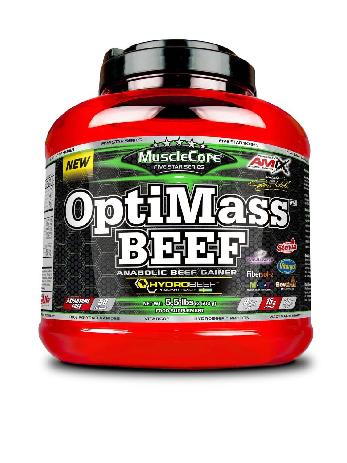 OptiMass BEEF with Hydrobeef 2500g - Amix