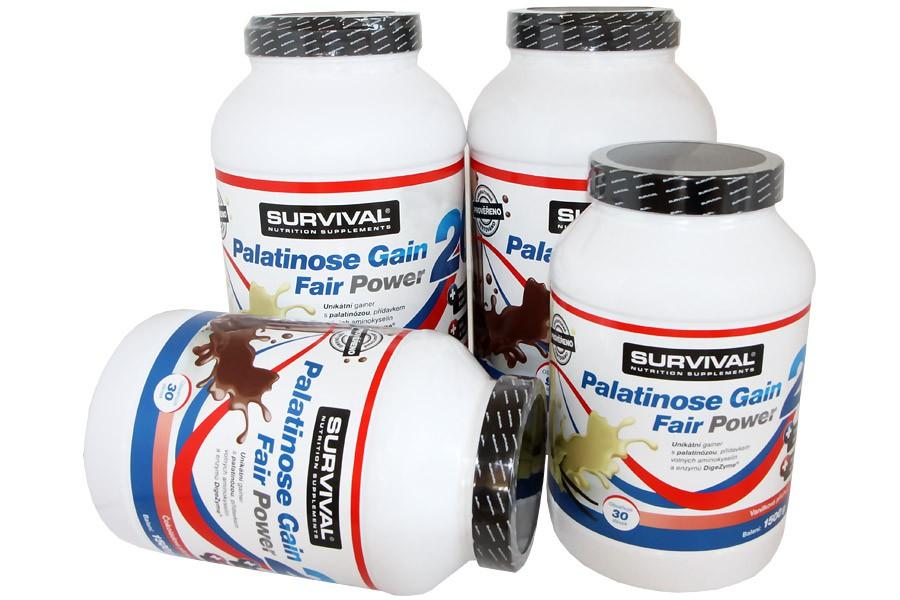 Palatinose Gain 20 Fair Power 1500g - Survival