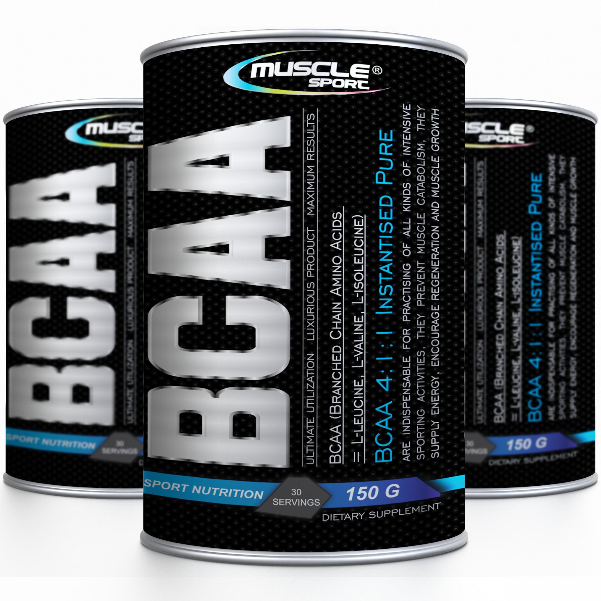 Pure BCAA 4:1:1 150g - Musclesport