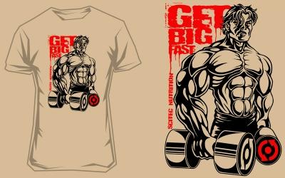 Scitec pánské tričko Get Big Fast 2
