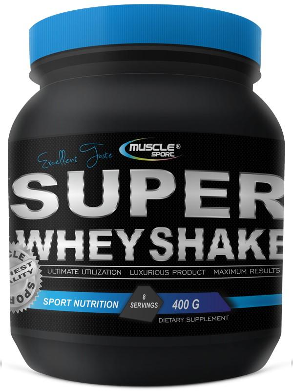 Super Whey Shake 400g - Musclesport