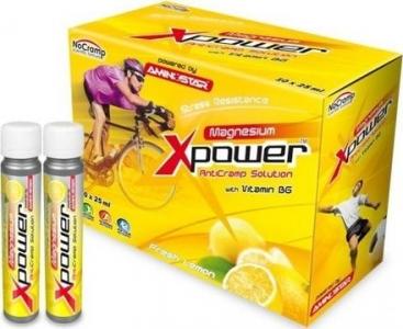 Xpower Magnesium 10 ampulí á 25ml lemon - Aminostar